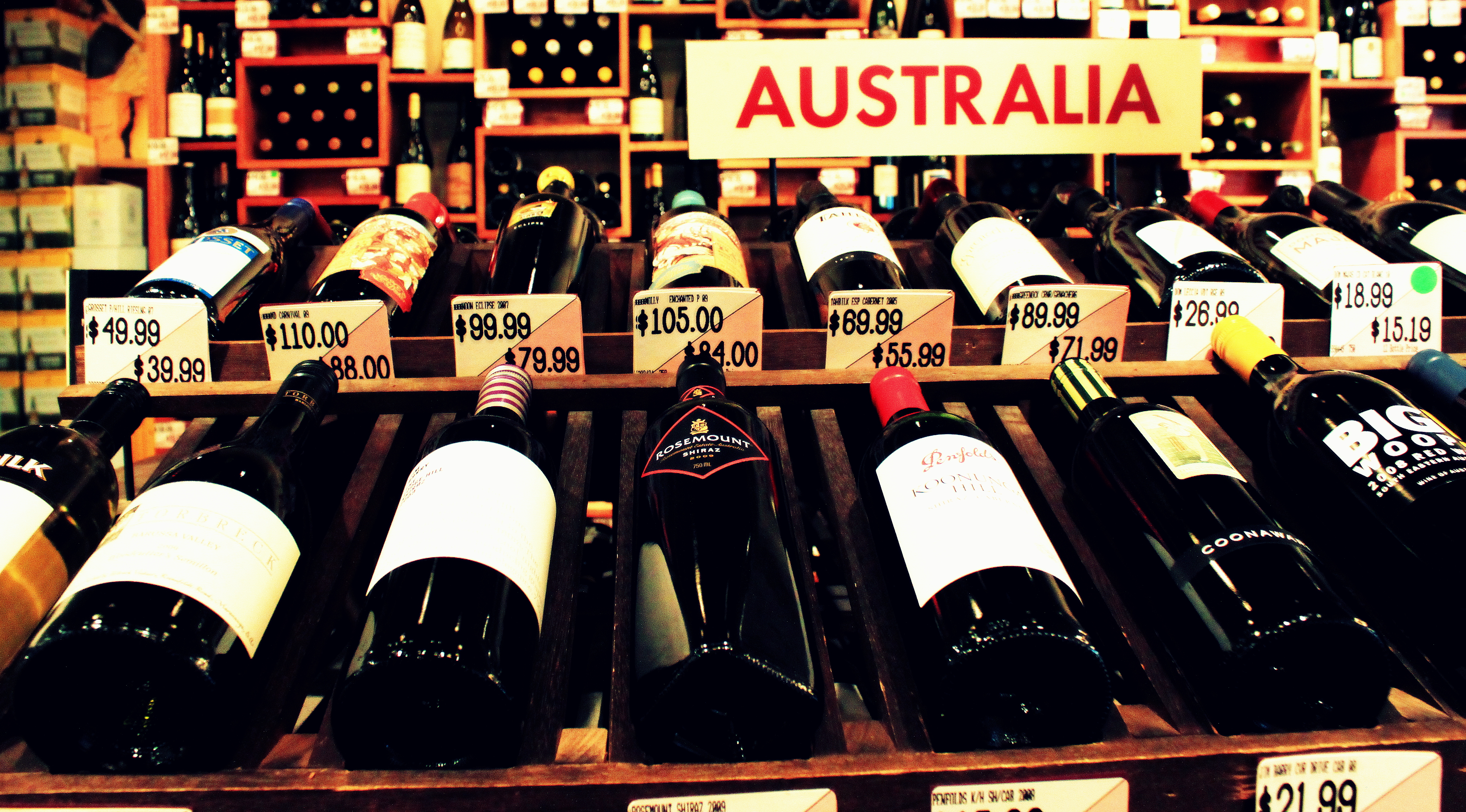 the wine industry in australia Interest in the australian wine industry goes back four generations owner patrick mcguigan the first of four generations to enter the wine industry was a dairy farmer by trade percy mcguigan 's career was spent at penfolds prior to retirement in 1968 percy purchased dalwood estate and renamed it wyndham estate.