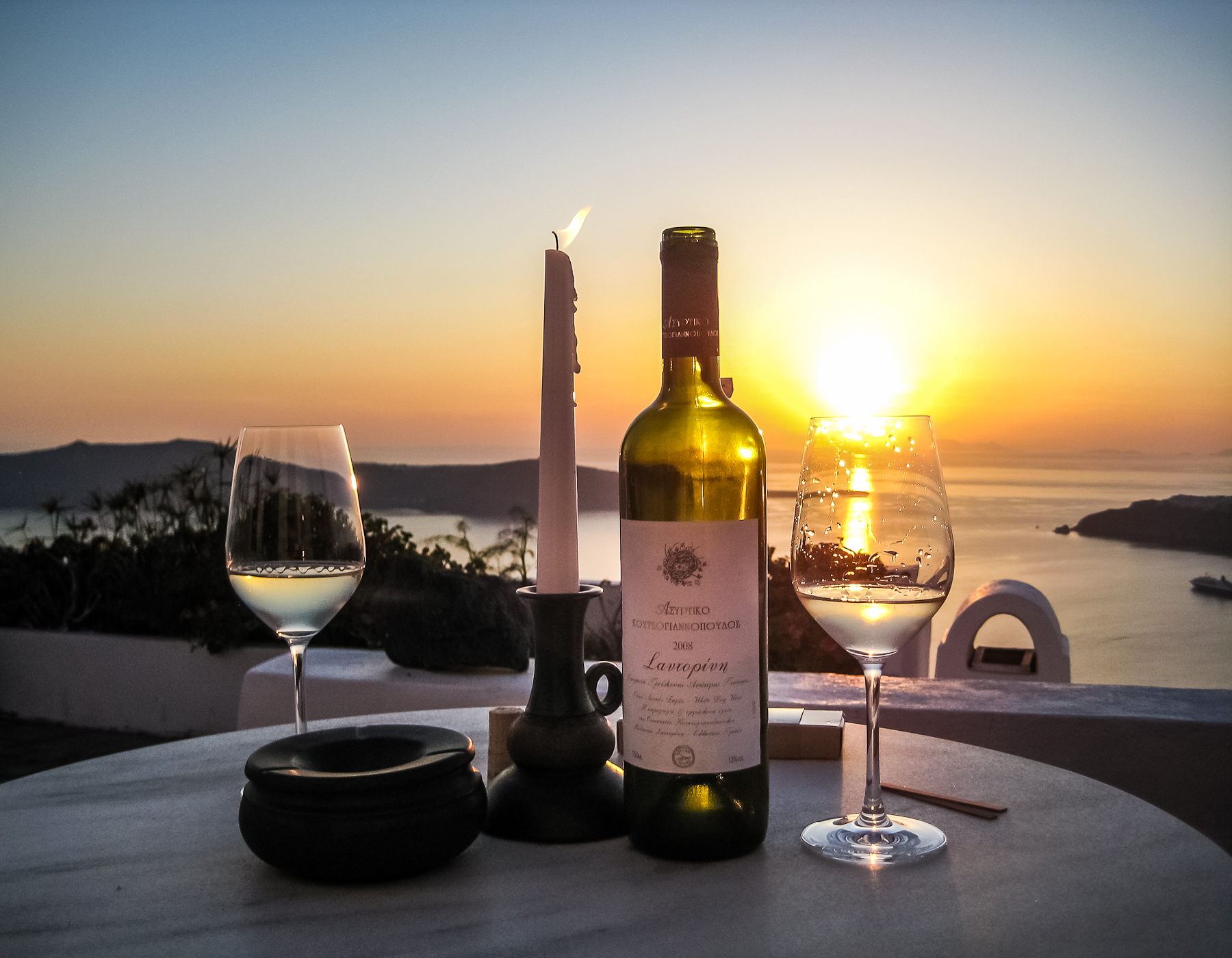 Greek wine santorini edition why go how to do it and for Most beautiful wine bottles