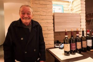 Adanti's first winemaker Alvaro Palini