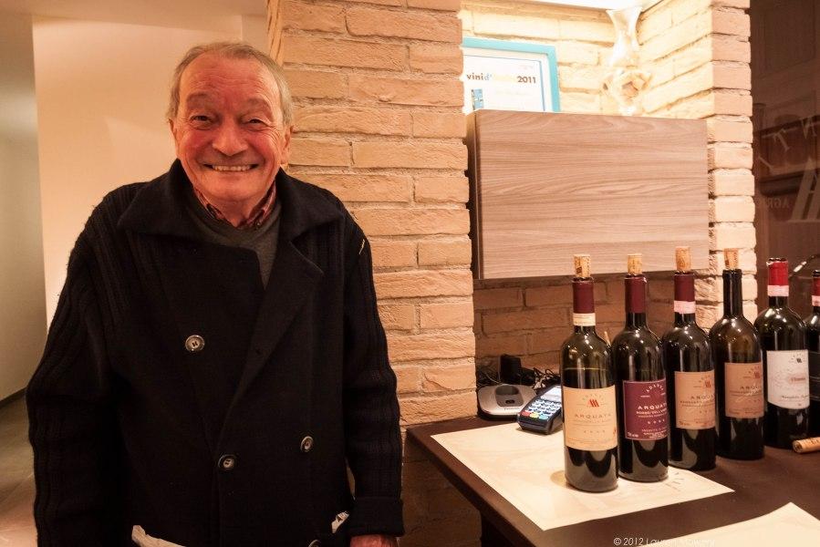 Adanti's first winemaker Alvaro Palini