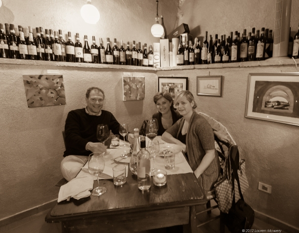 Enoteca L'Alchimista with Daniele and Donatella