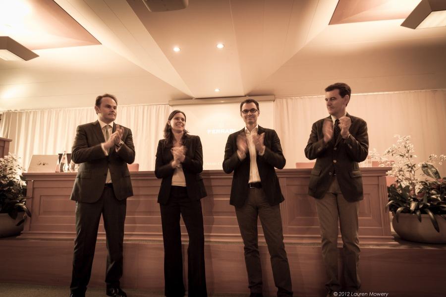 Matteo, Camilla, Marcello and Alessandro - The Fab Four