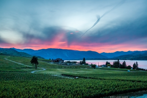 Lake Chelan Sunset