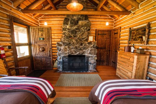 CabinFireplace