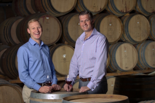 Paul Cluver and Winemaker Andries Burger