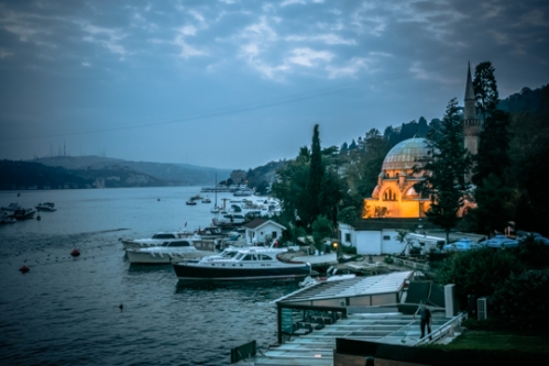 Images by Lauren Mowery. Istanbul's Bosphorus at Dawn