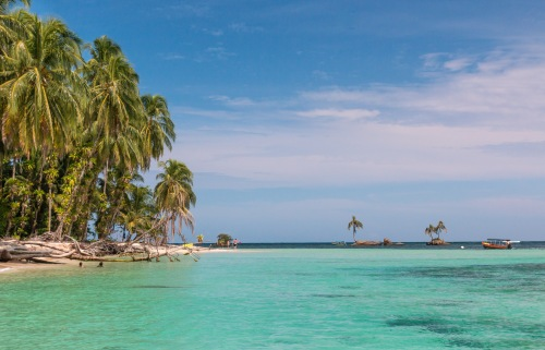 Isla Zapatilla, an Island off Bocas del Toro