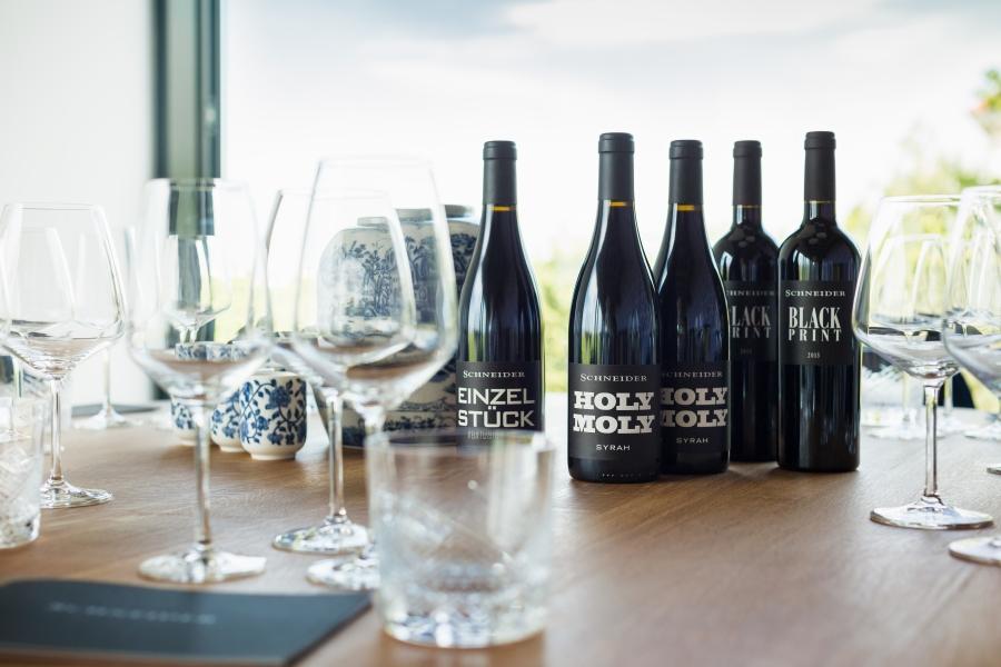 Modern marketing drives Schneider Wines.